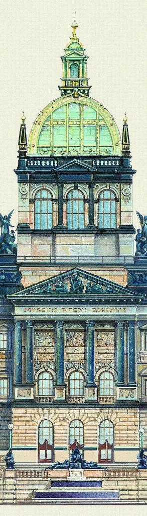 Záložka Libero Patrignani – Národní muzeum