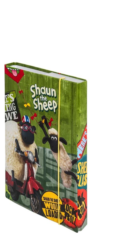 Dosky na školské zošity A5 Ovečka Shaun