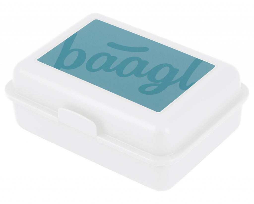 BAAGL Box na desiatu Logo transparentný