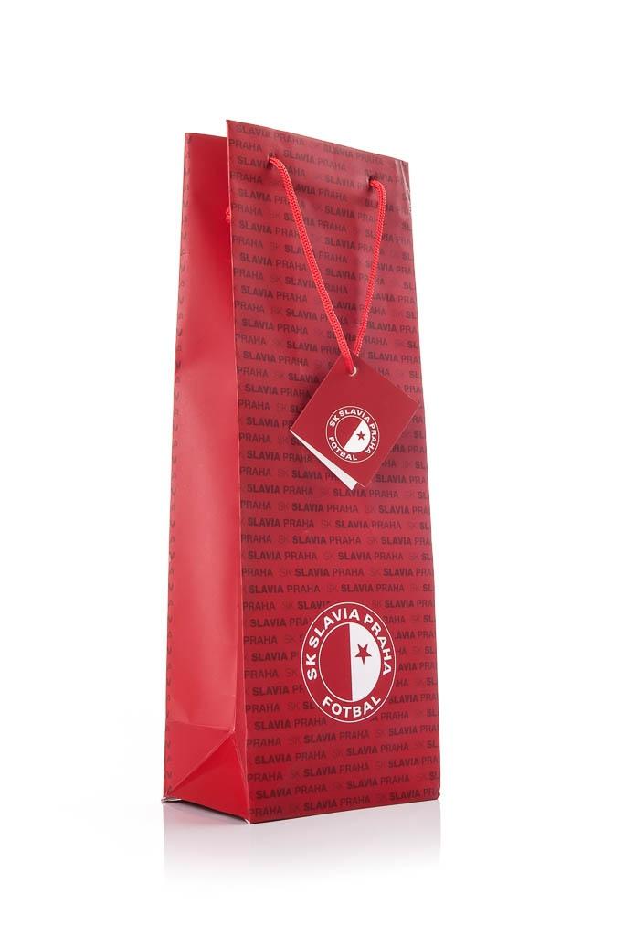 SLAVIA - dárková taška, na lahev