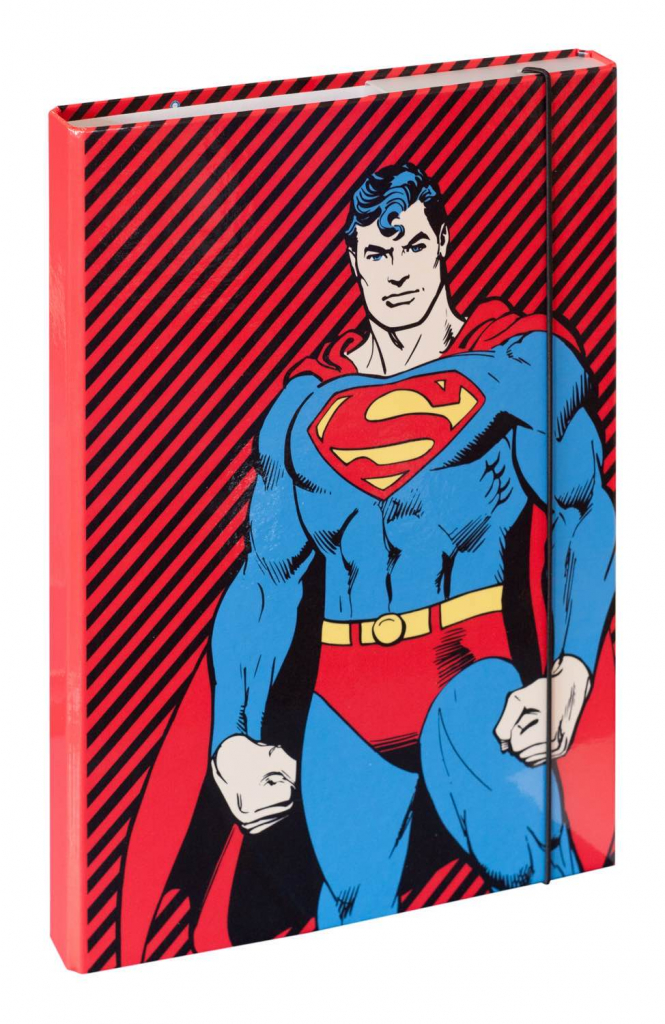 Dosky na školské zošity A4 Superman