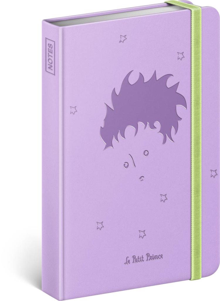 Notes Malý princ – Boy, linkovaný, 11 × 16 cm