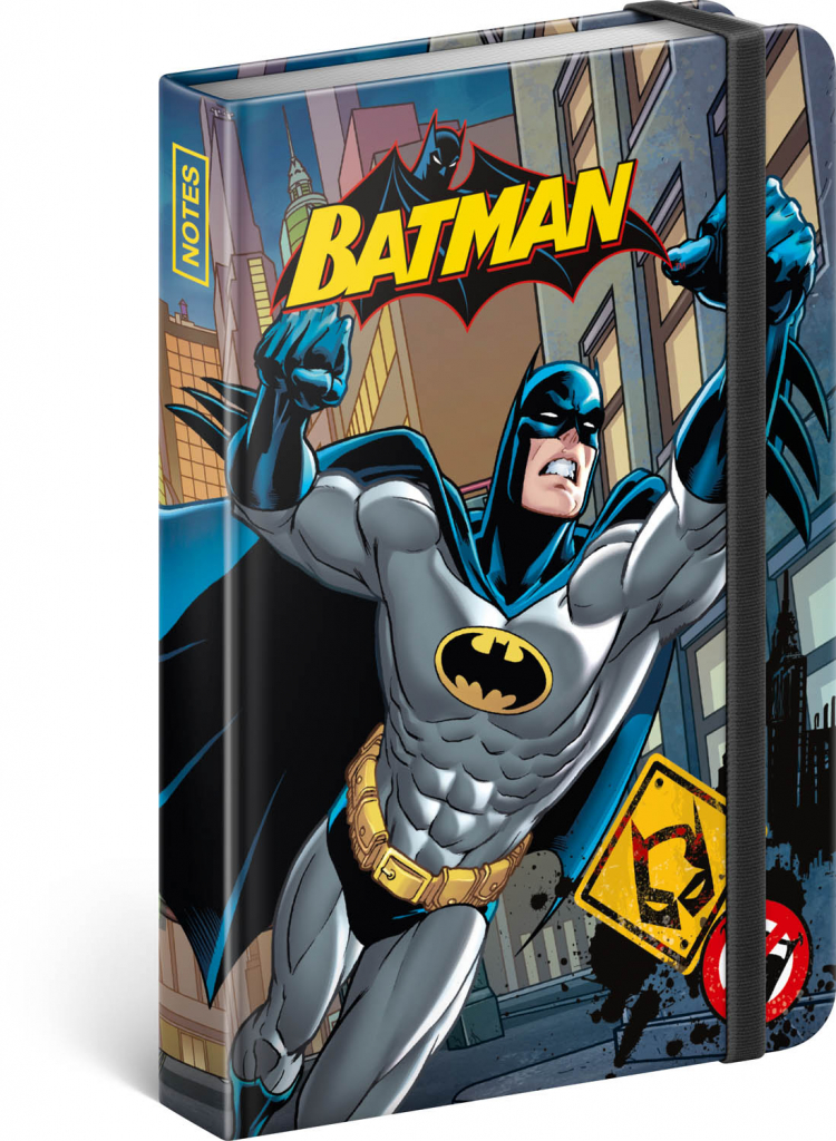 Notes Batman – Power, linkovaný, 11 × 16 cm