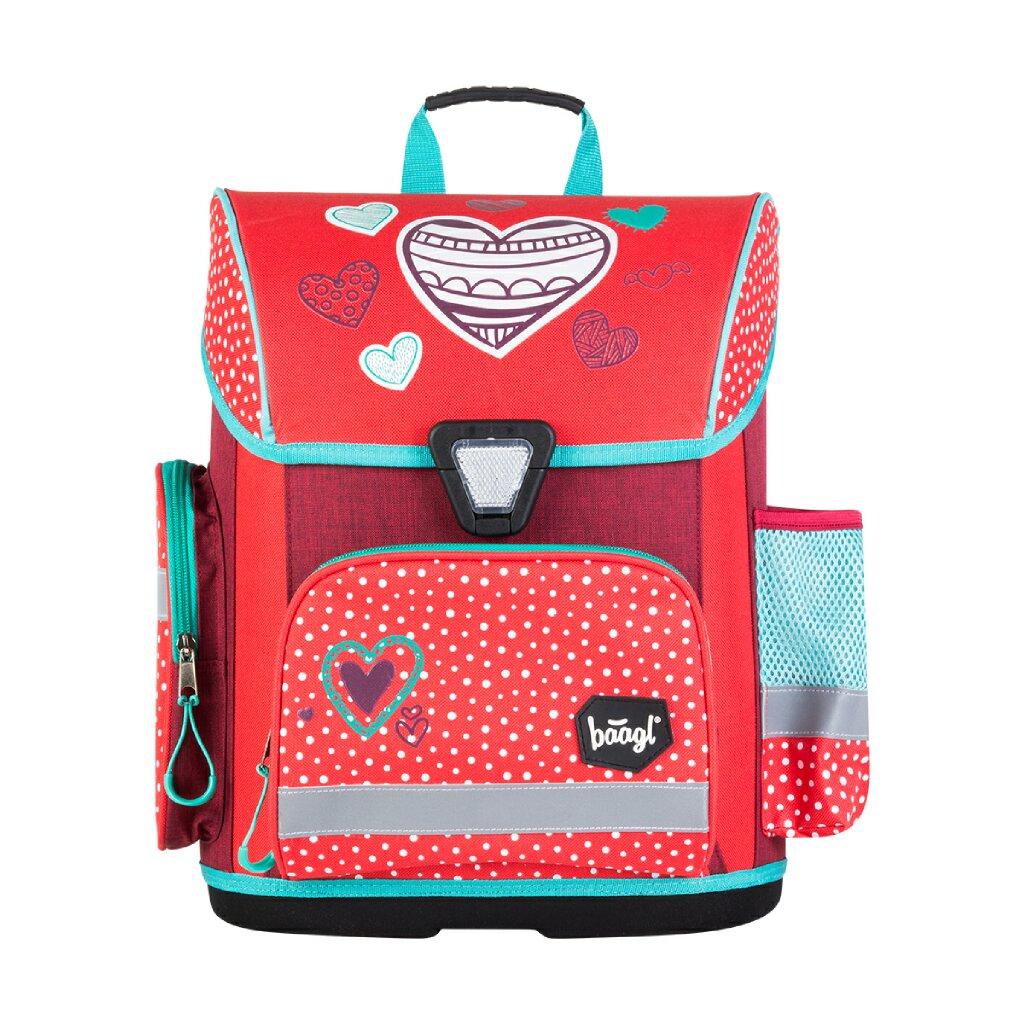Školská aktovka Srdce – HEARTS