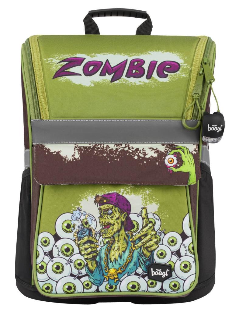 BAAGL Školní aktovka Zippy Zombie