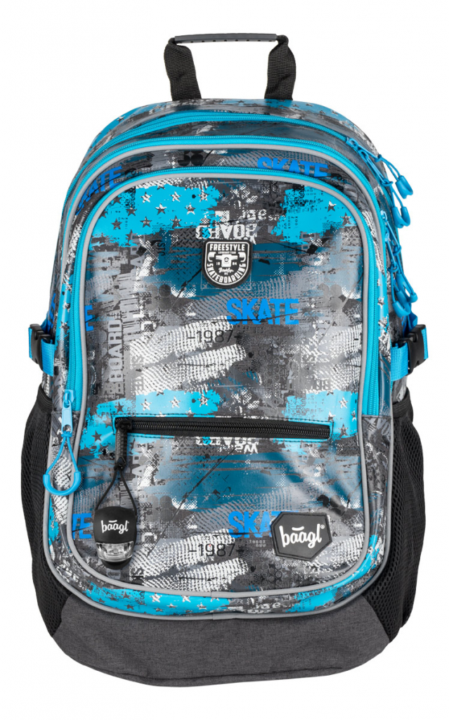 BAAGL Školní batoh Freestyle
