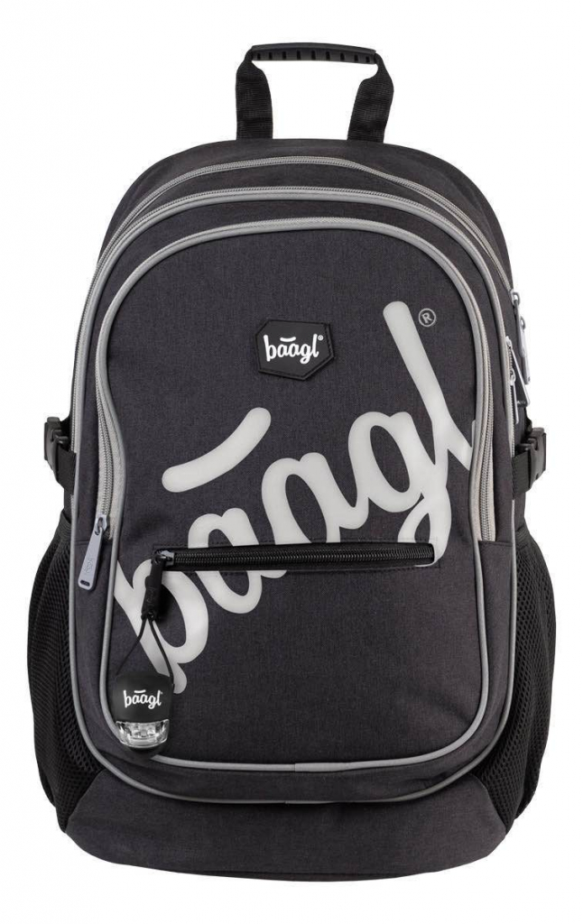 BAAGL Školní batoh Core Logo Reflex