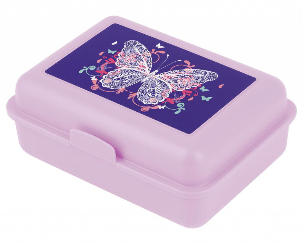 BAAGL Box na desiatu Motýľ