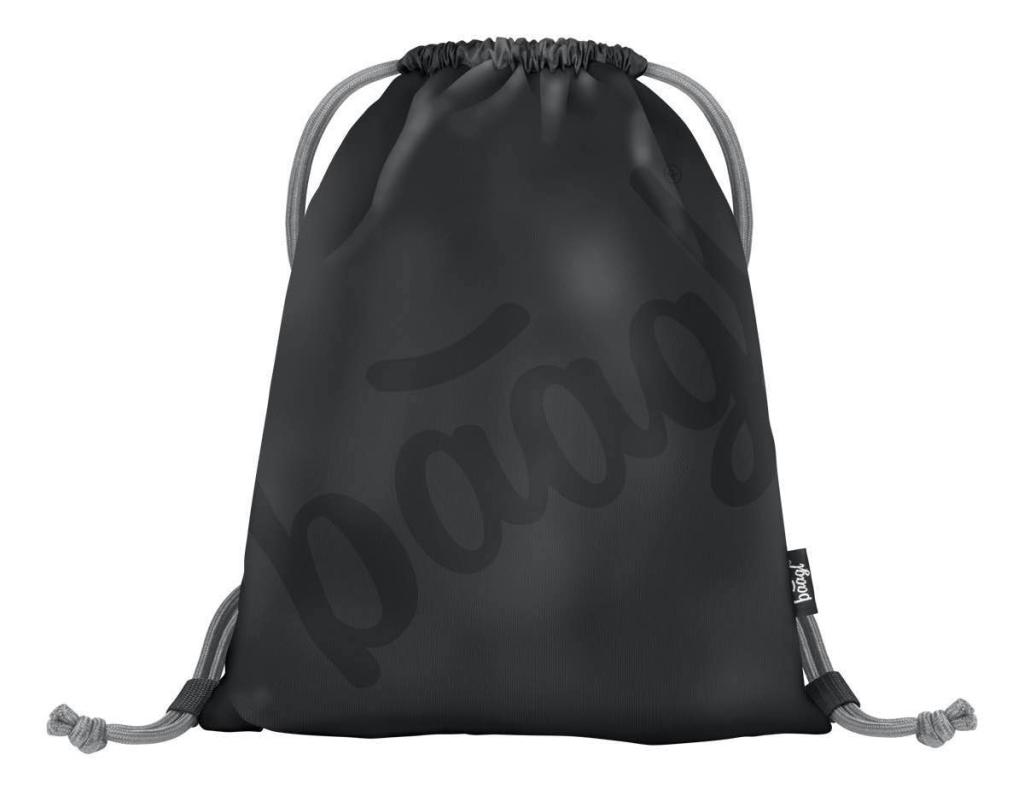 BAAGL Vrecko na obuv Logo black