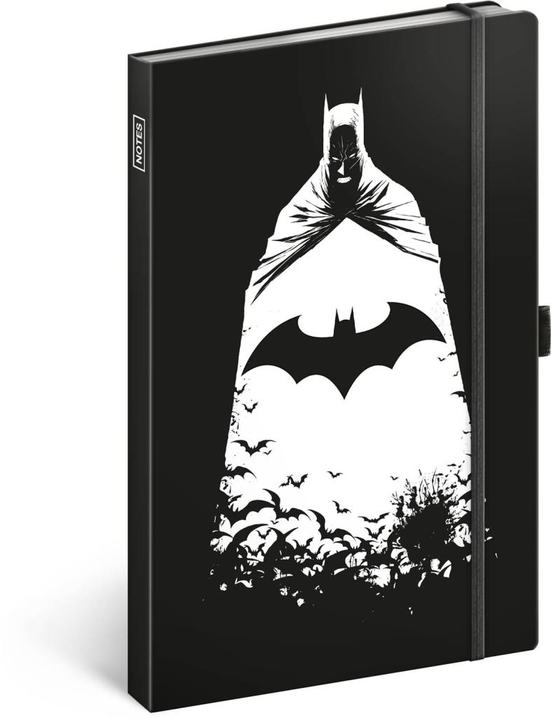 Notes Batman linkovaný, 13 × 21 cm