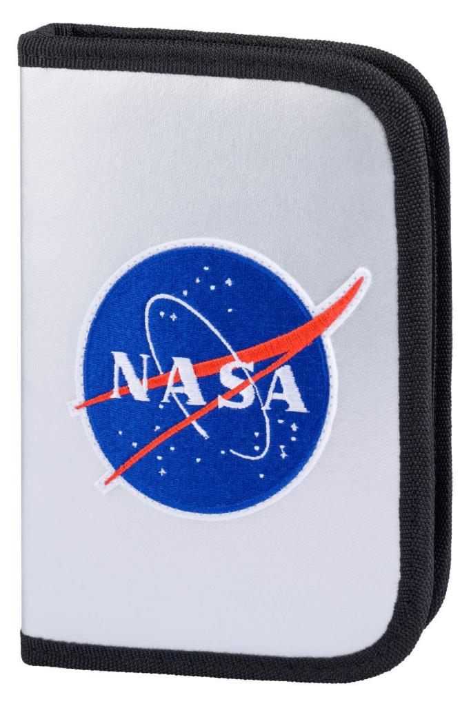 BAAGL Školní penál klasik dvě chlopně NASA