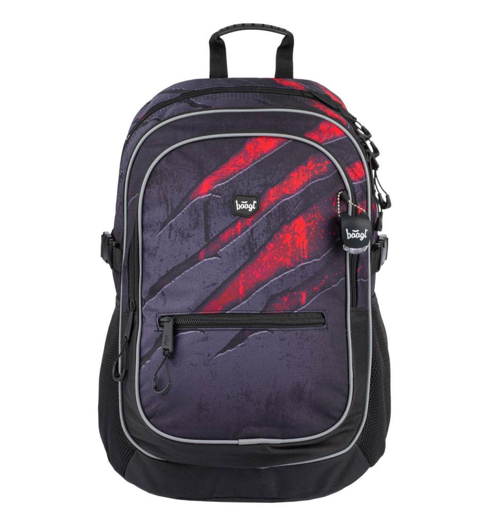 BAAGL Školní batoh Core Láva