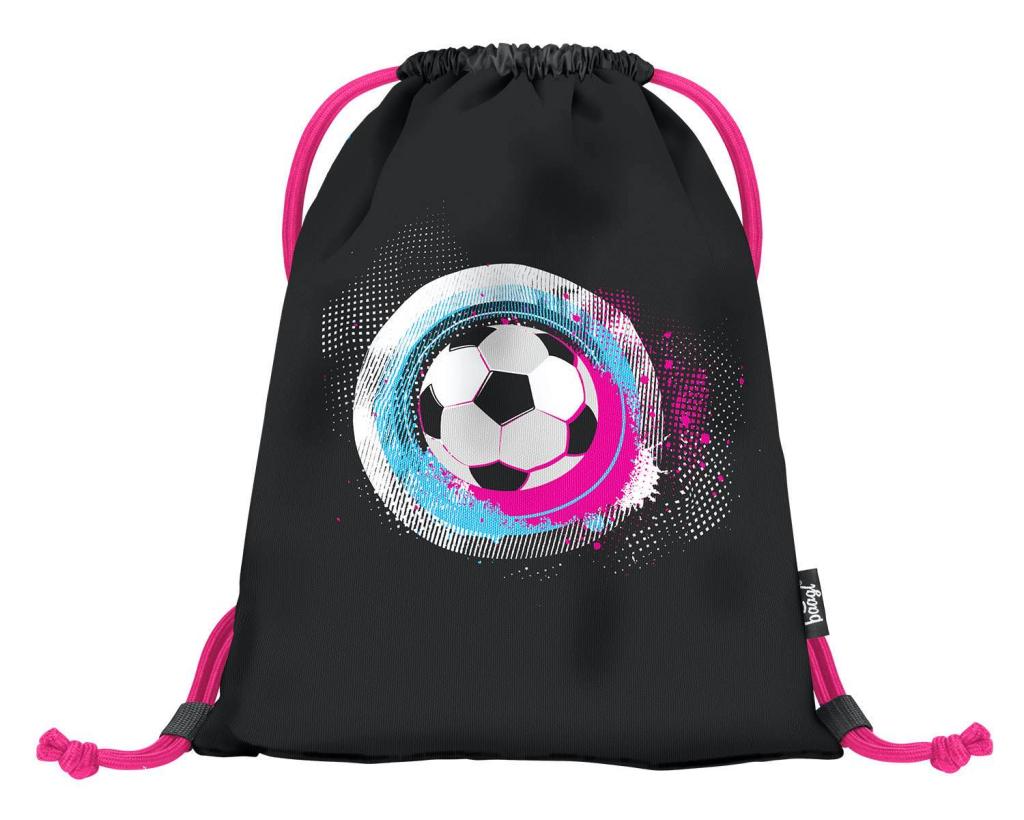 BAAGL Sáček na obuv Fotbal růžový